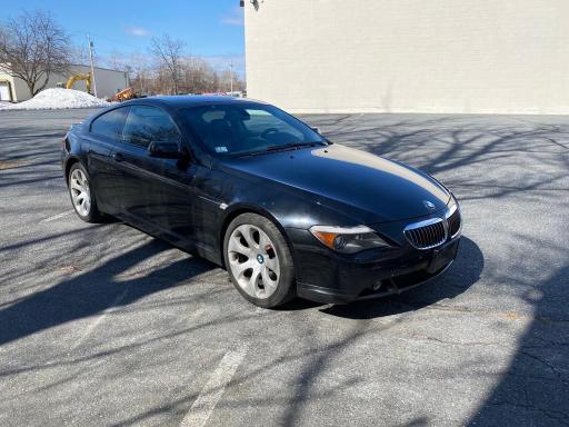 BMW Vehiculos salvage en venta: 2005 BMW 645 CI AUT