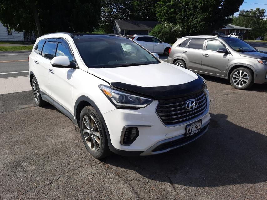 Salvage cars for sale from Copart Atlantic Canada Auction, NB: 2017 Hyundai Santa FE S