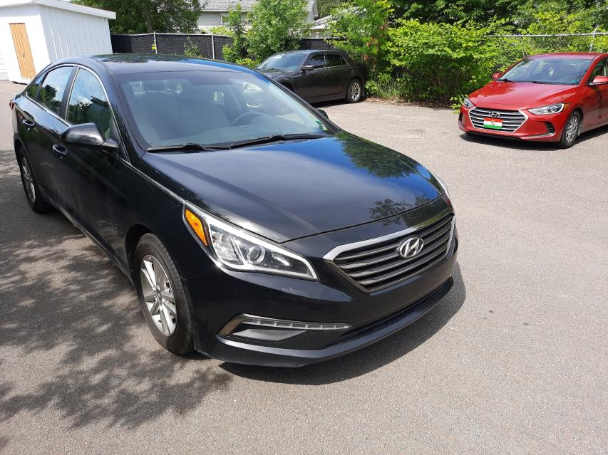 Salvage cars for sale from Copart Moncton, NB: 2015 Hyundai Sonata SE
