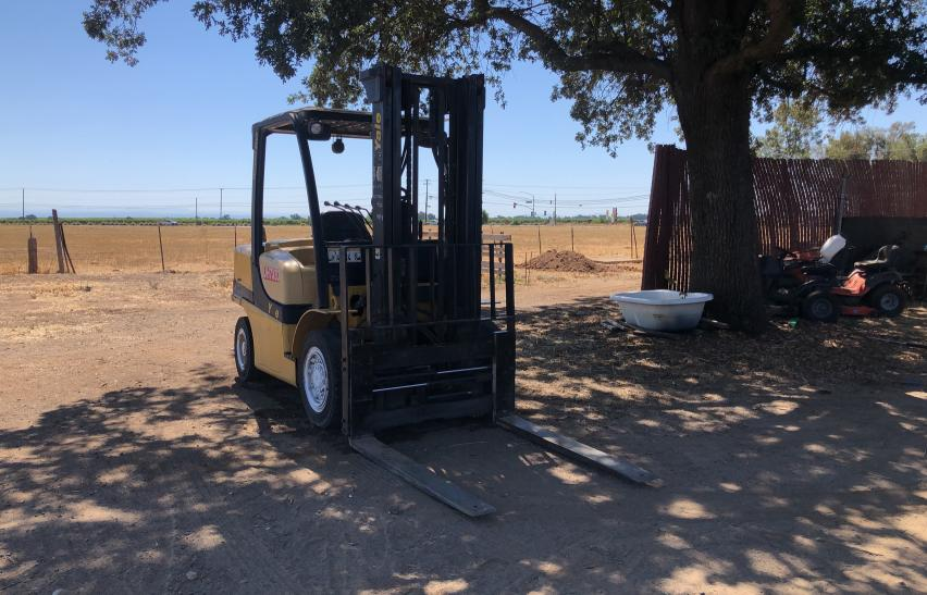 Used 2008 YALE FORKLIFT - Small image. Lot 48184211