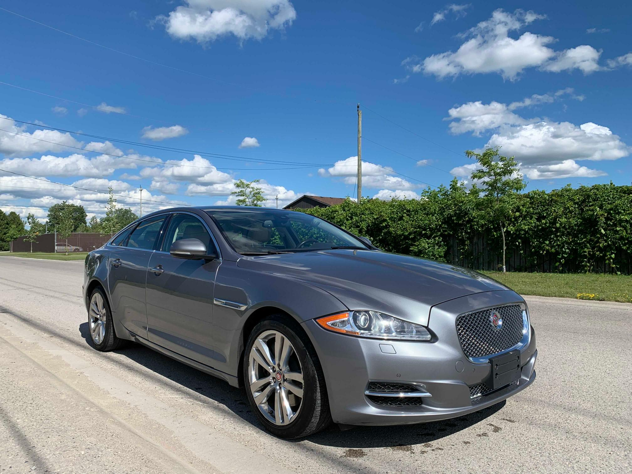 Salvage cars for sale from Copart London, ON: 2015 Jaguar XJ
