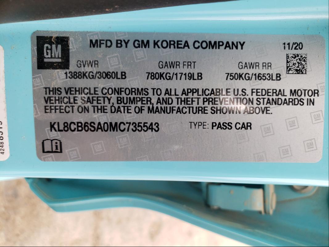 KL8CB6SA0MC735543