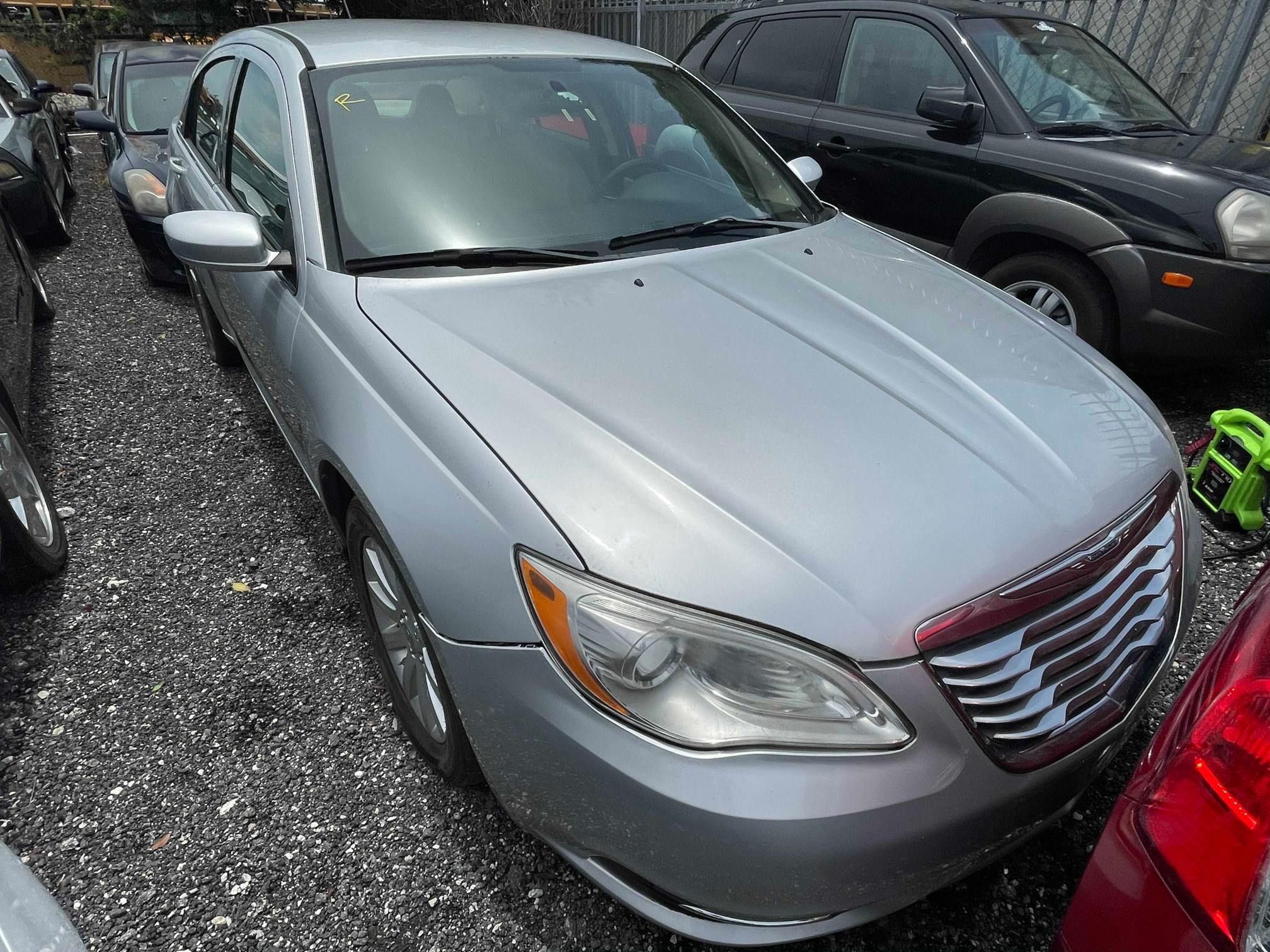 Salvage cars for sale from Copart Homestead, FL: 2011 Chrysler 200 Touring