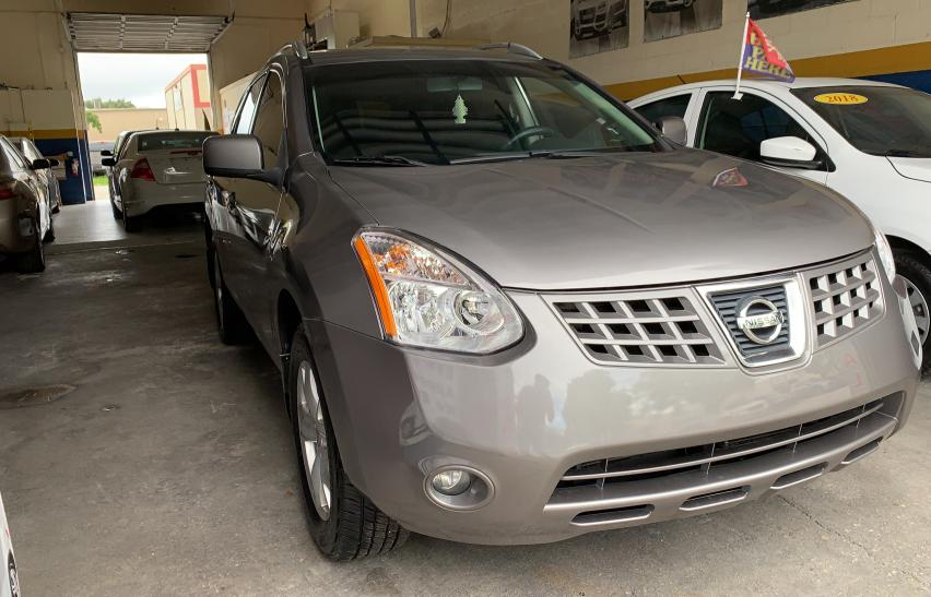 Salvage cars for sale from Copart Homestead, FL: 2009 Nissan Rogue S