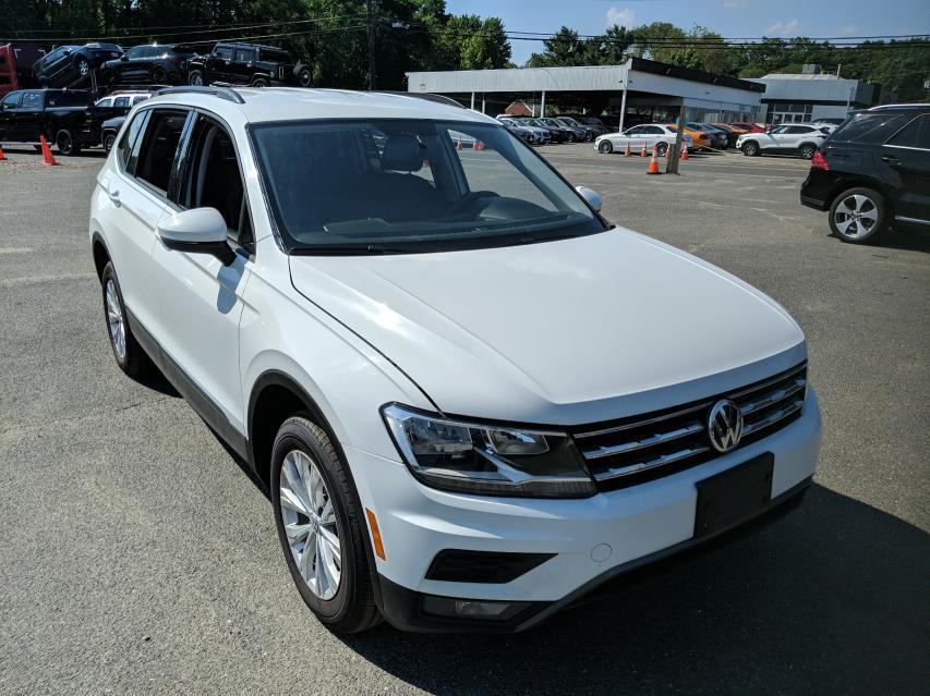 Volkswagen salvage cars for sale: 2020 Volkswagen Tiguan S