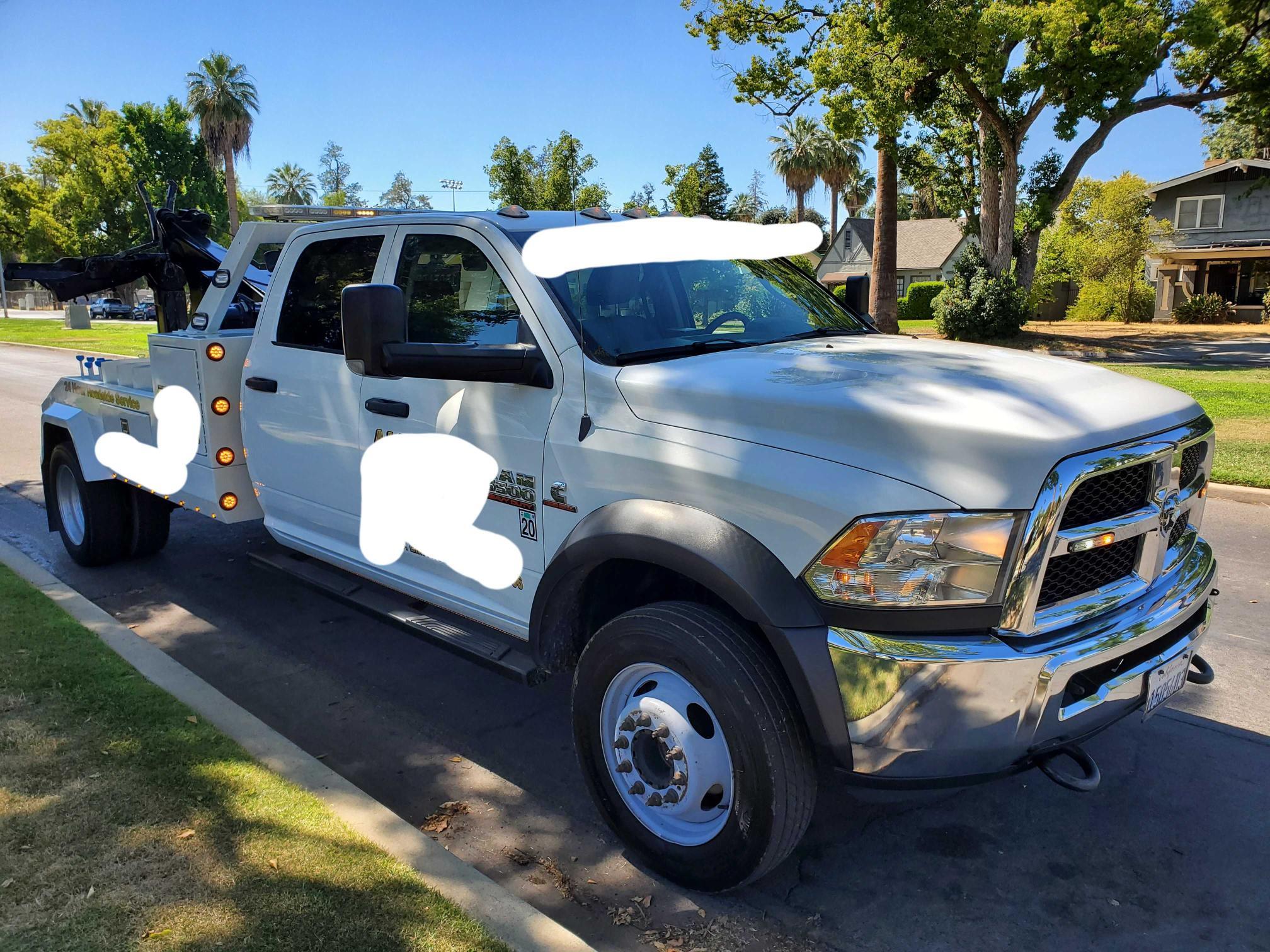 2017 Dodge RAM 5500 en venta en Fresno, CA