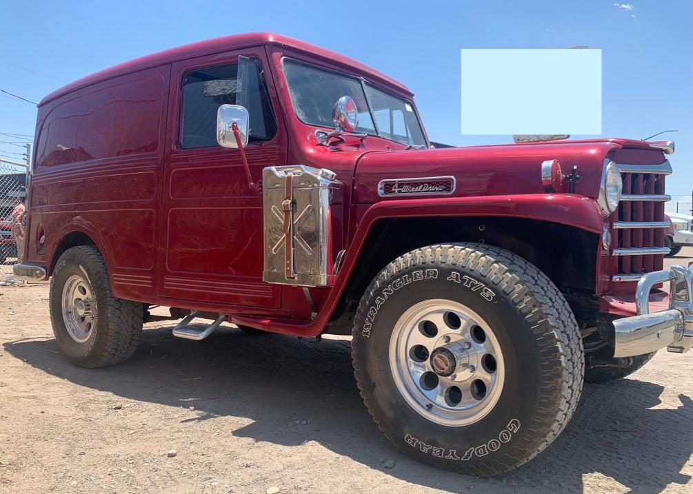 Salvage cars for sale from Copart Anthony, TX: 1952 Willys Wagon