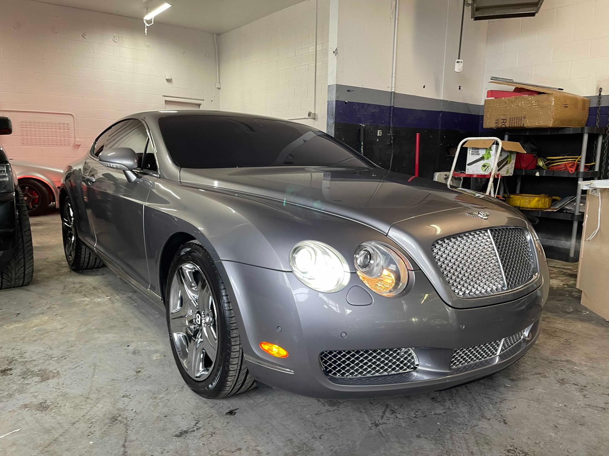 Salvage cars for sale from Copart Colorado Springs, CO: 2005 Bentley Continental