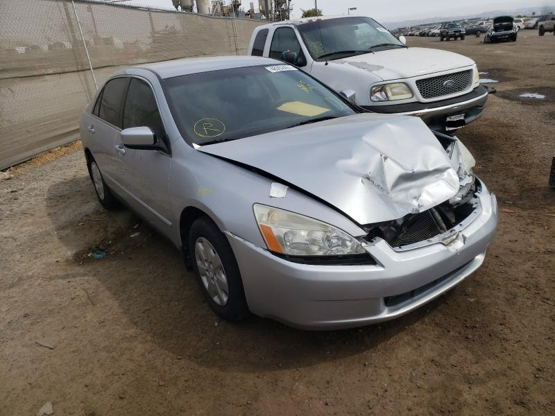 Salvage cars for sale from Copart San Diego, CA: 2003 Honda Accord LX