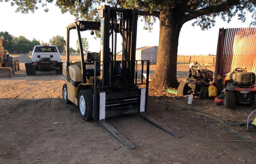 2008 Yale Forklift en venta en Sacramento, CA