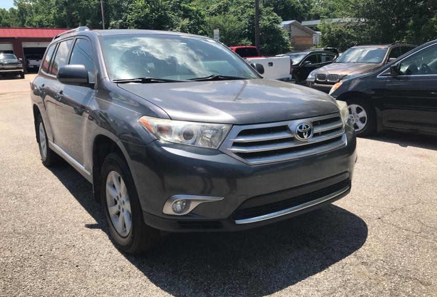 Vehiculos salvage en venta de Copart Oklahoma City, OK: 2012 Toyota Highlander