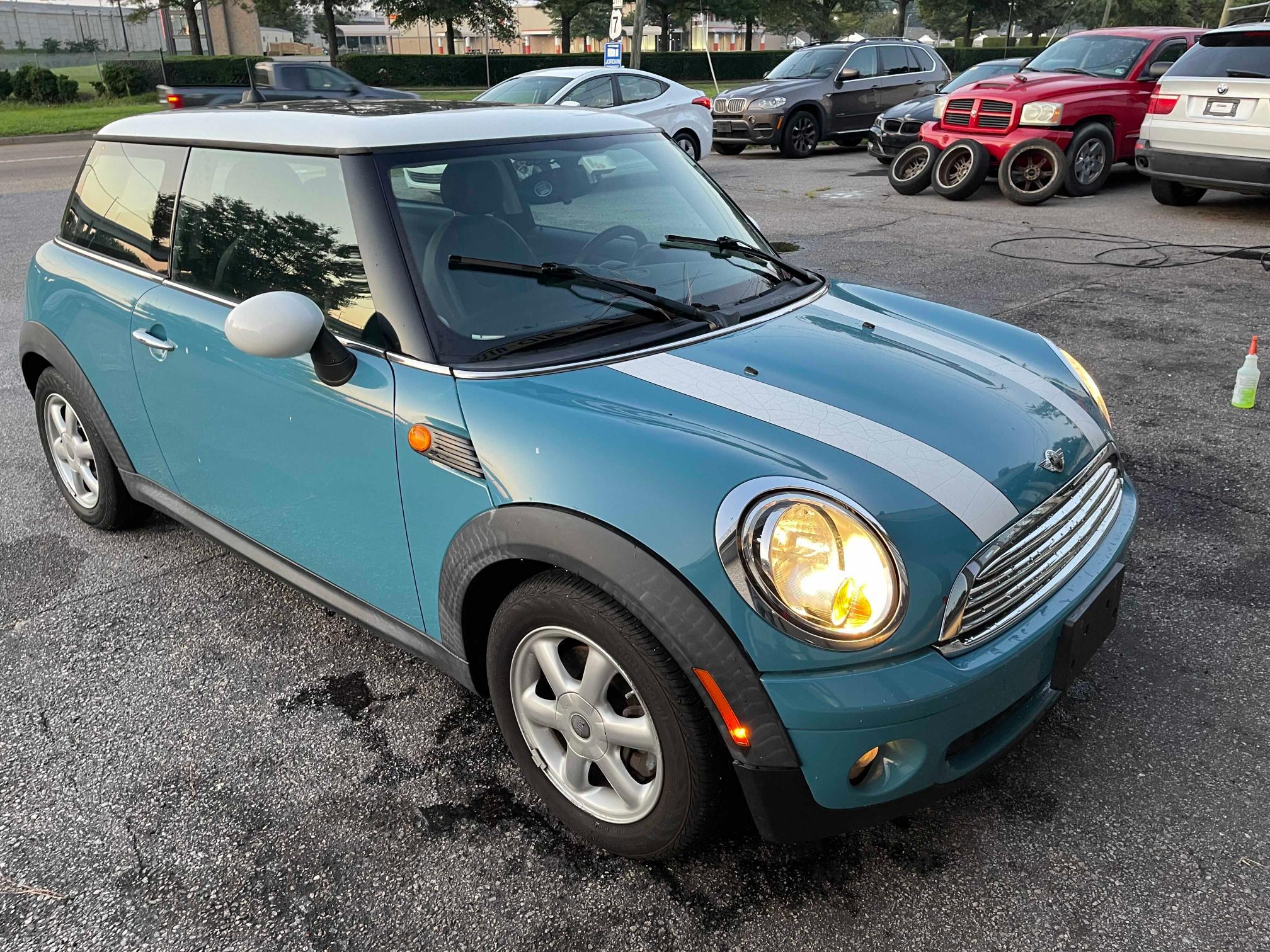 Mini salvage cars for sale: 2009 Mini Cooper