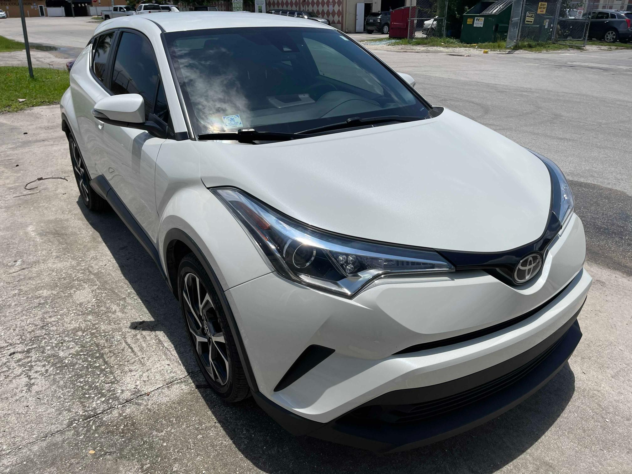 Salvage cars for sale from Copart Homestead, FL: 2018 Toyota C-HR XLE