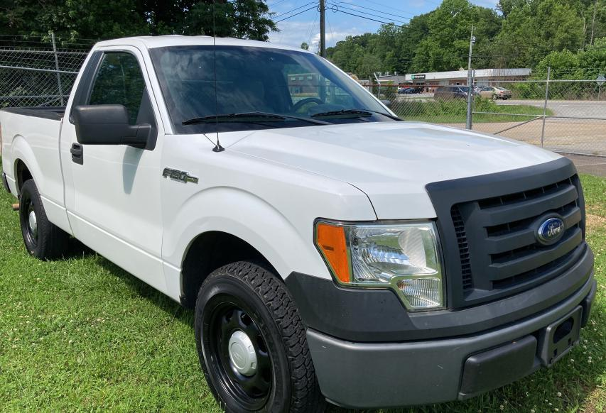 Salvage cars for sale from Copart Gainesville, GA: 2012 Ford F150