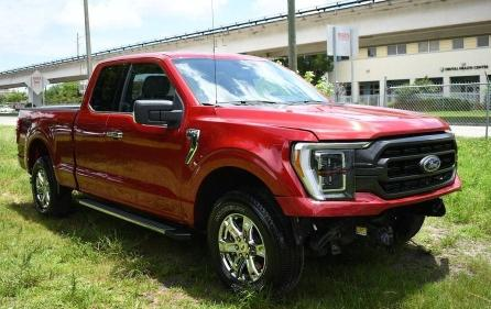 Salvage cars for sale from Copart Homestead, FL: 2021 Ford F150 Super