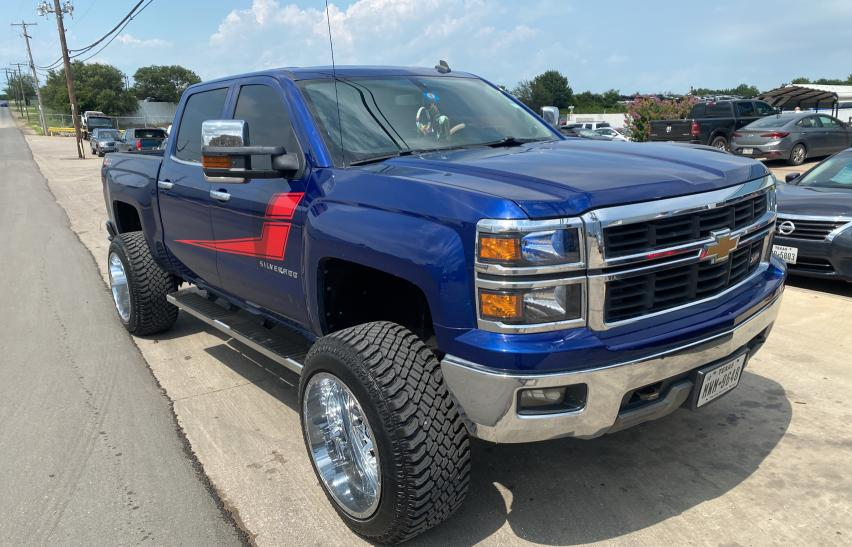 Salvage cars for sale from Copart Grand Prairie, TX: 2014 Chevrolet Silverado