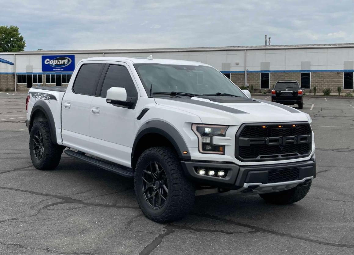 Salvage cars for sale from Copart Marlboro, NY: 2019 Ford F150 Rapto