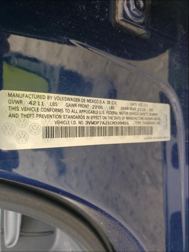 3VWDP7AJ1CM309455