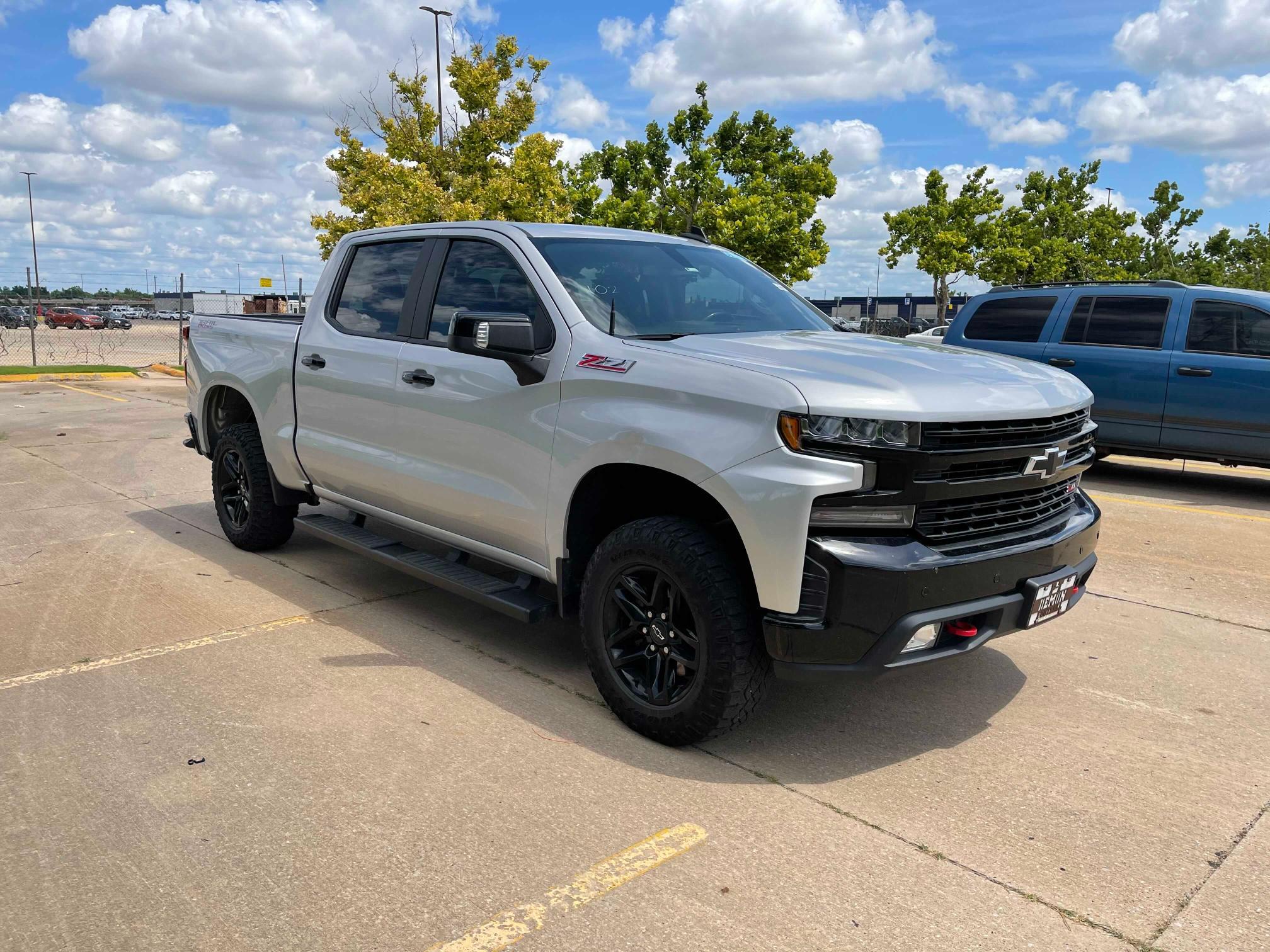 Vehiculos salvage en venta de Copart Oklahoma City, OK: 2019 Chevrolet Silverado
