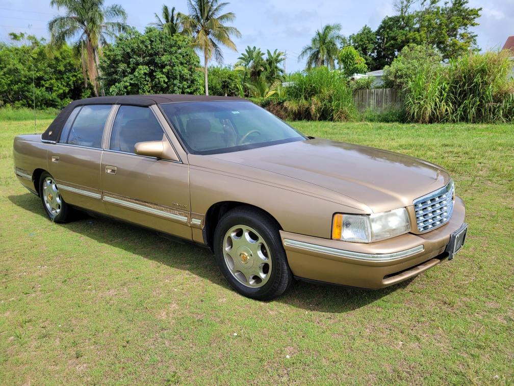 Salvage cars for sale from Copart Homestead, FL: 1999 Cadillac Deville