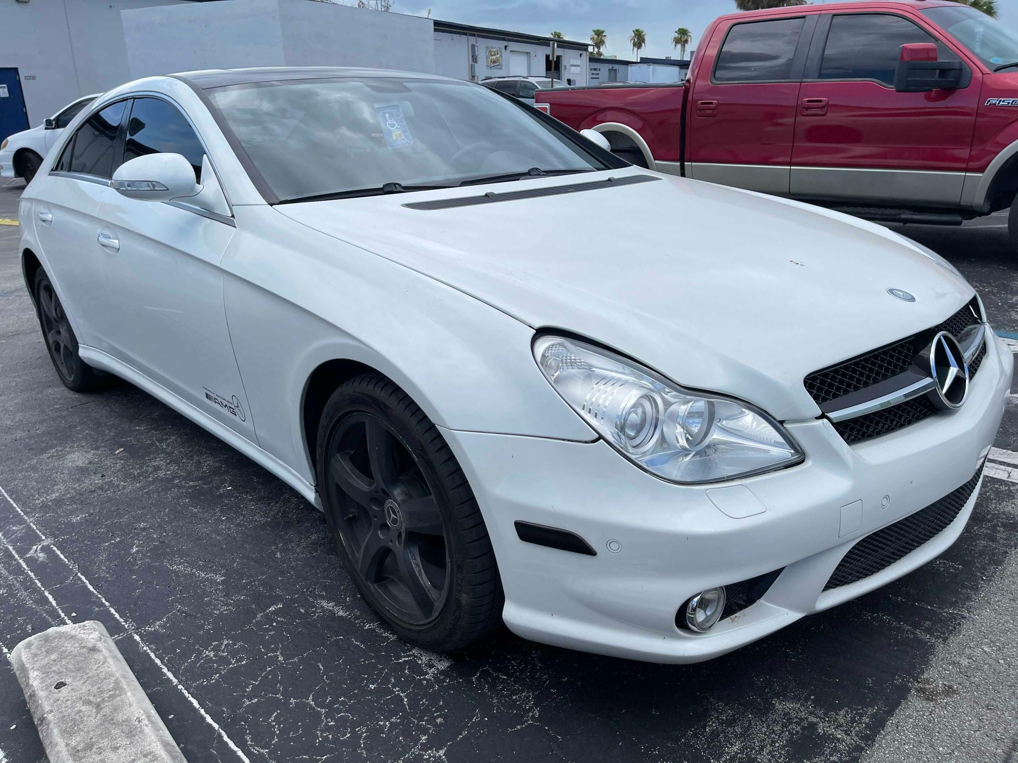 Salvage cars for sale from Copart Homestead, FL: 2008 Mercedes-Benz CLS 550