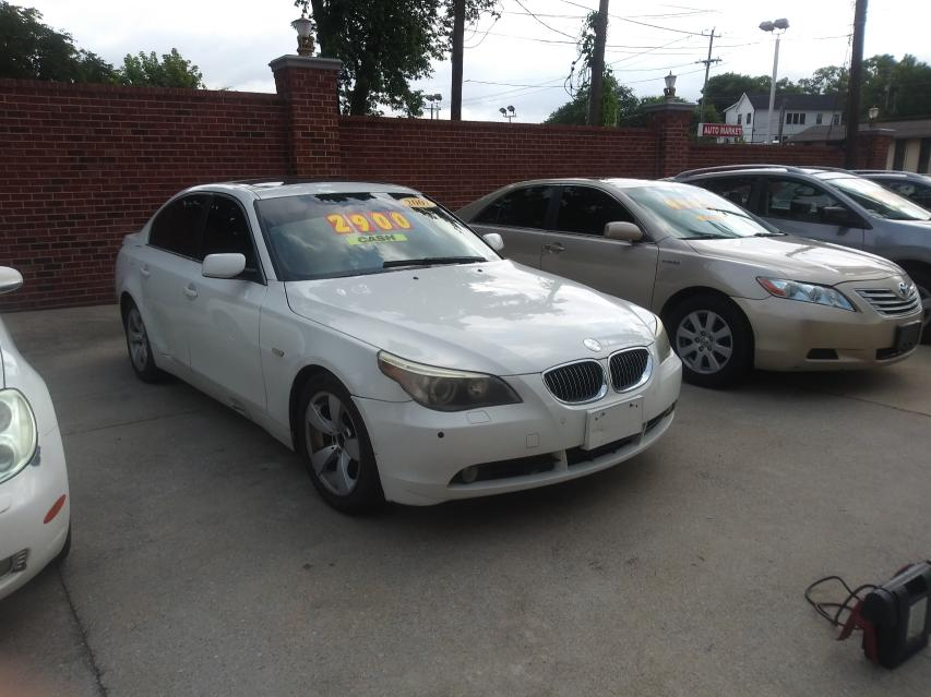BMW Vehiculos salvage en venta: 2007 BMW 530 I