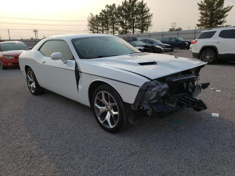 Salvage cars for sale from Copart Anthony, TX: 2016 Dodge Challenger