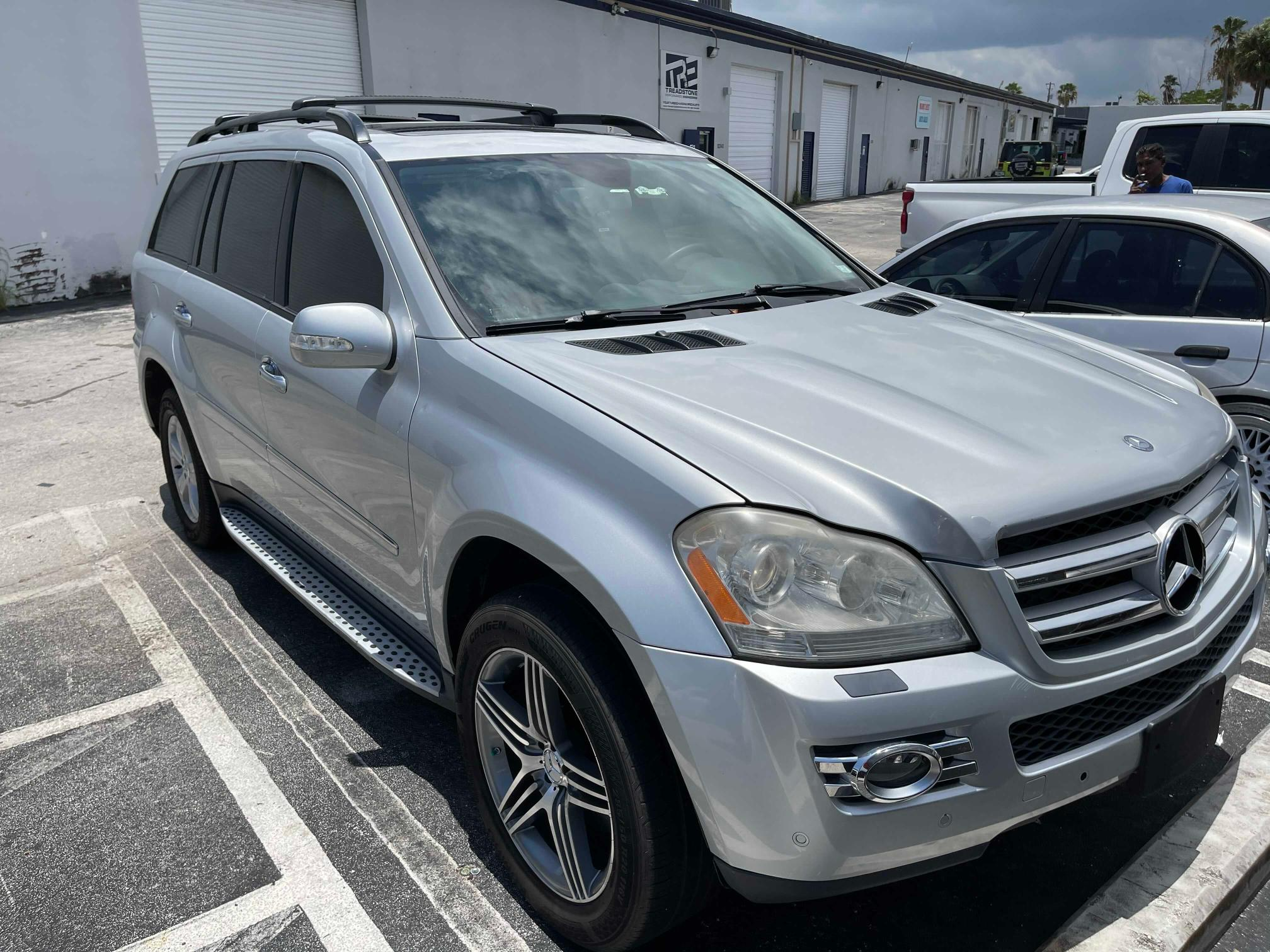 Salvage cars for sale from Copart Homestead, FL: 2007 Mercedes-Benz GL 450 4matic