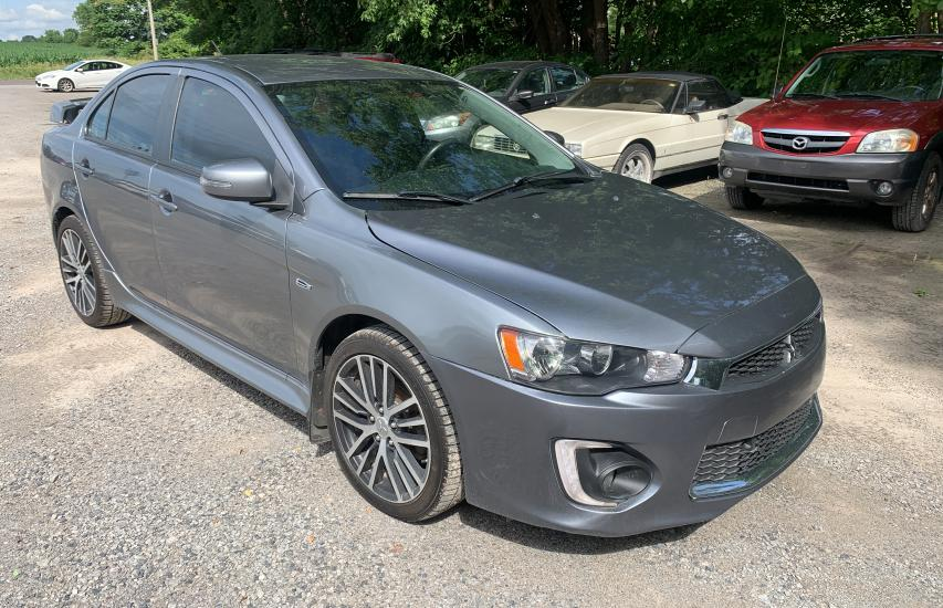Salvage cars for sale from Copart Ellwood City, PA: 2017 Mitsubishi Lancer ES
