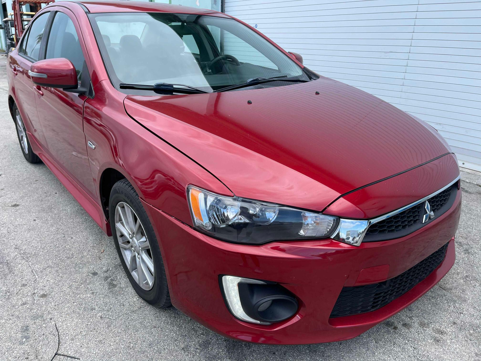 Salvage cars for sale from Copart Homestead, FL: 2016 Mitsubishi Lancer ES
