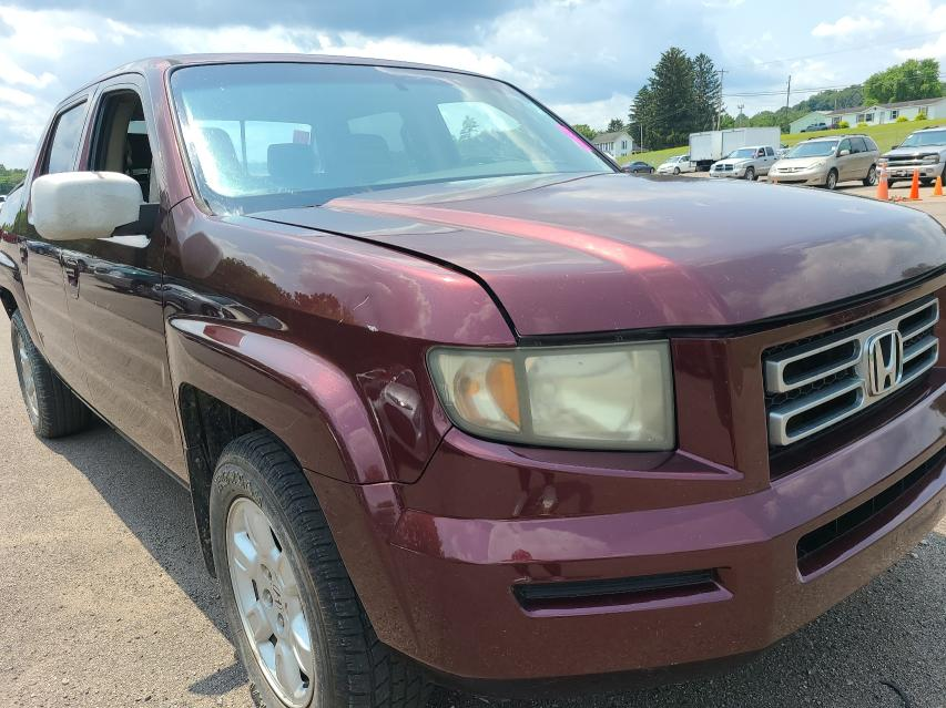 Salvage cars for sale from Copart Columbus, OH: 2007 Honda Ridgeline