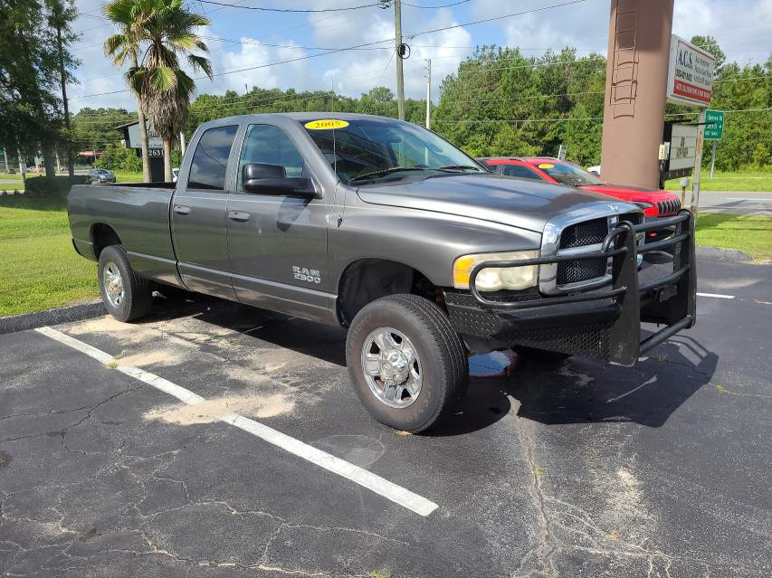 Salvage cars for sale from Copart Ocala, FL: 2005 Dodge RAM 2500 S