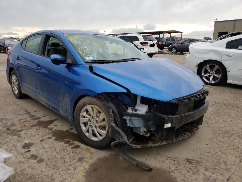 Vehiculos salvage en venta de Copart Wilmer, TX: 2017 Hyundai Elantra SE