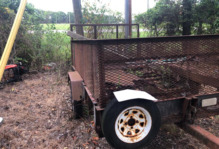 Trailers salvage cars for sale: 1989 Trailers Trailer