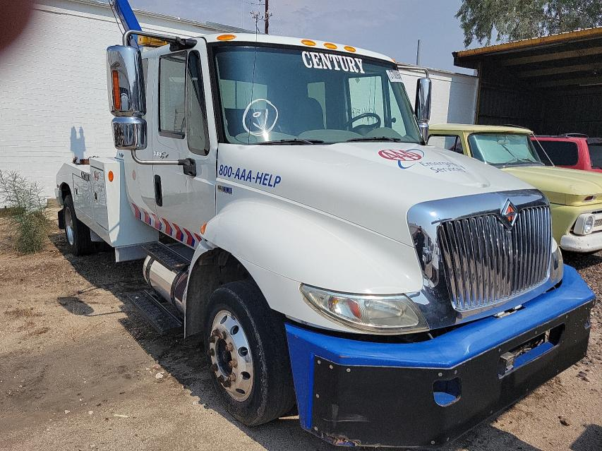 Salvage cars for sale from Copart Tucson, AZ: 2012 International 4000 4300