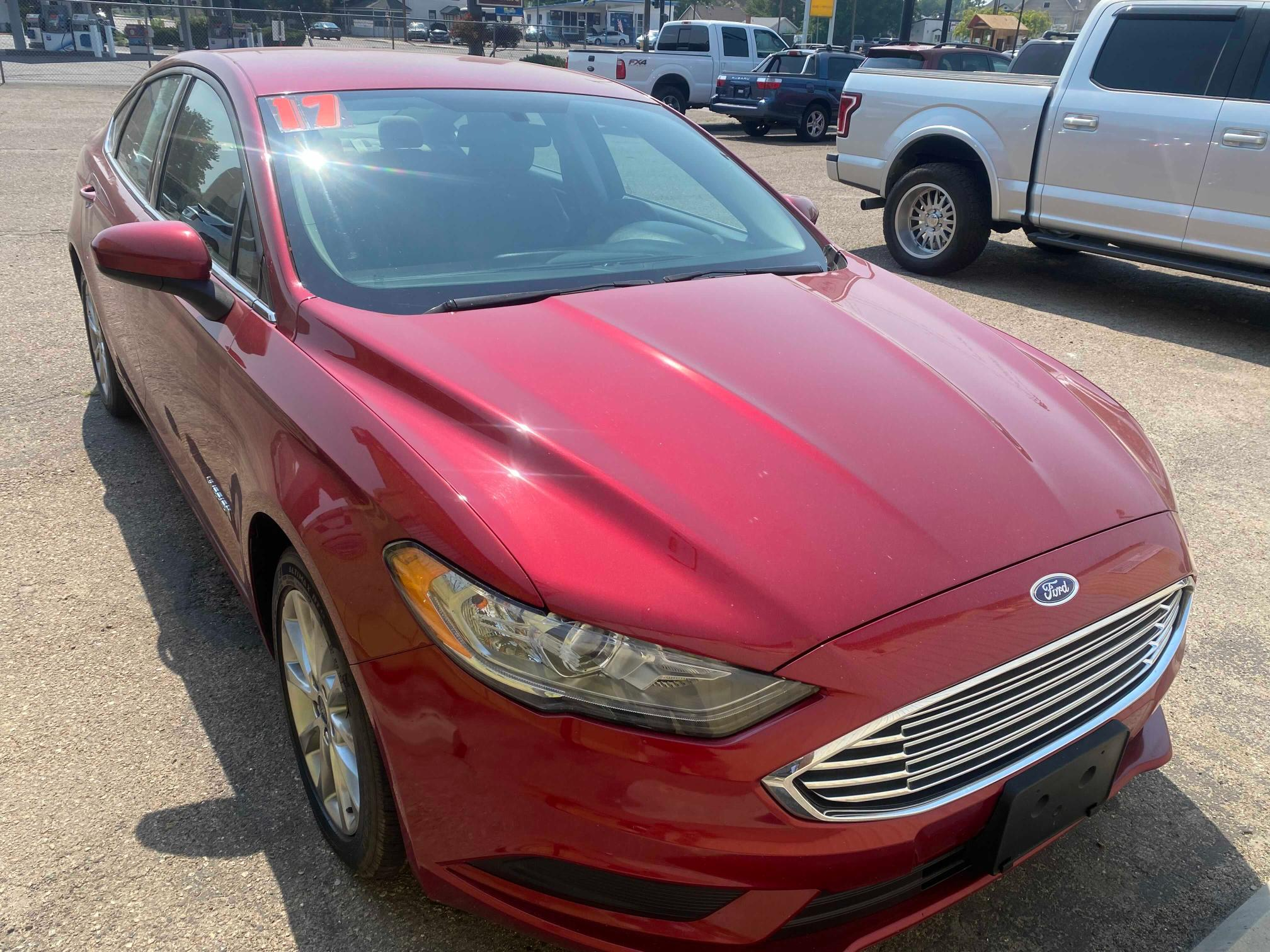 Salvage cars for sale from Copart Nampa, ID: 2017 Ford Fusion SE