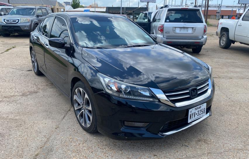 Salvage cars for sale from Copart Florence, MS: 2014 Honda Accord Sport