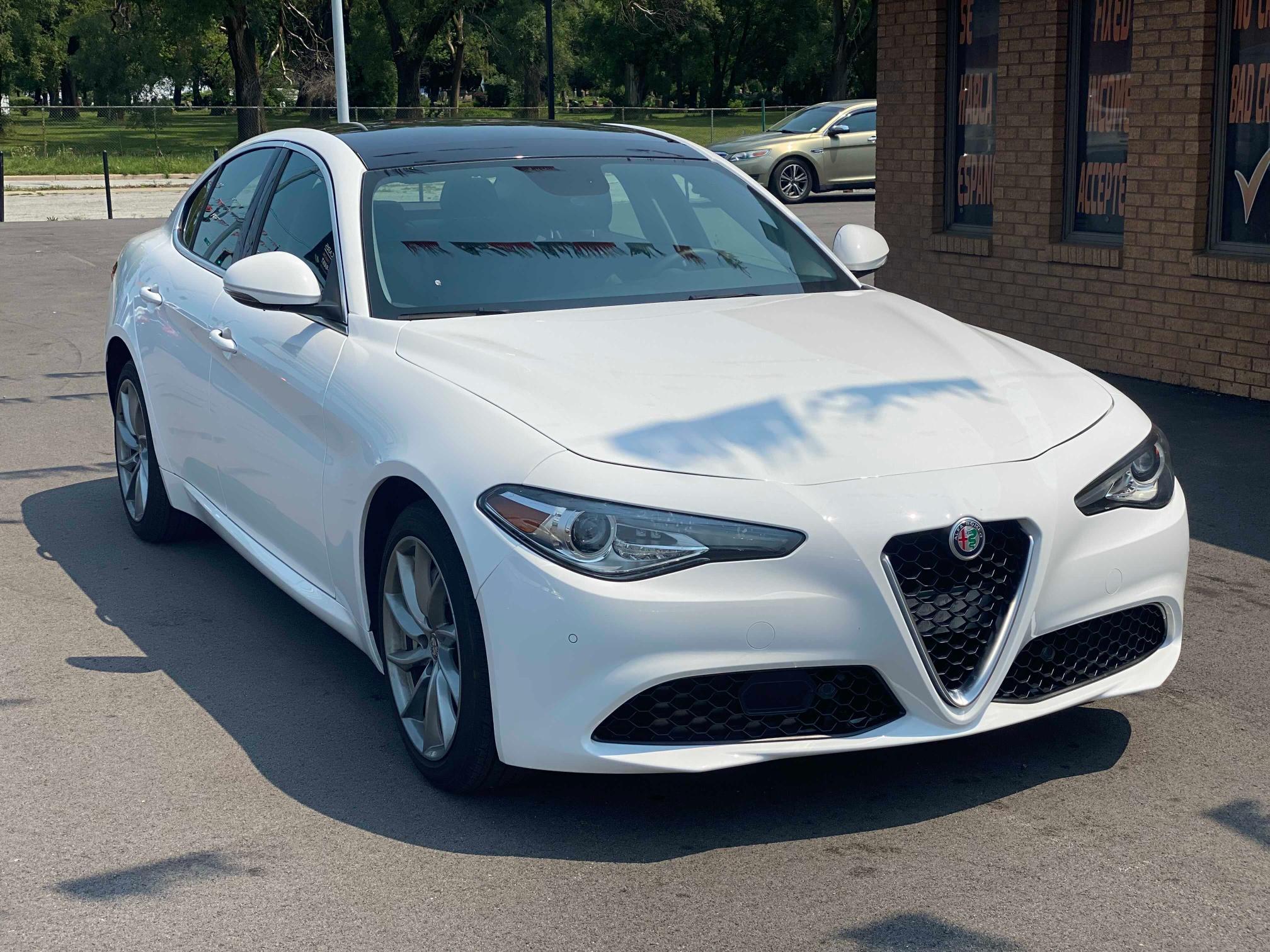 Alfa Romeo salvage cars for sale: 2017 Alfa Romeo Giulia Q4