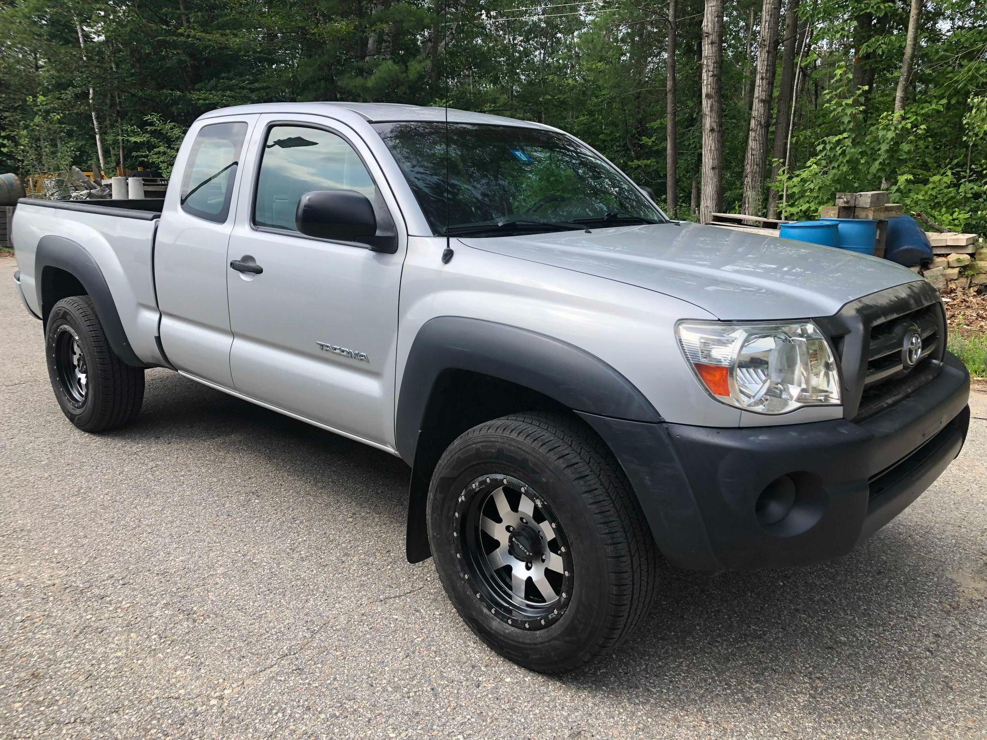 Salvage cars for sale from Copart North Billerica, MA: 2009 Toyota Tacoma ACC