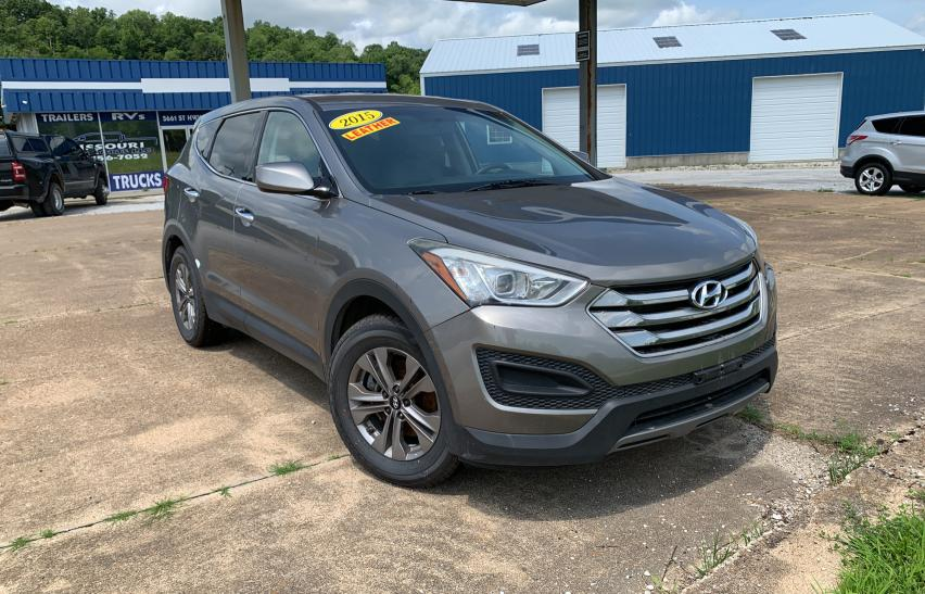 Salvage cars for sale from Copart Rogersville, MO: 2015 Hyundai Santa FE S