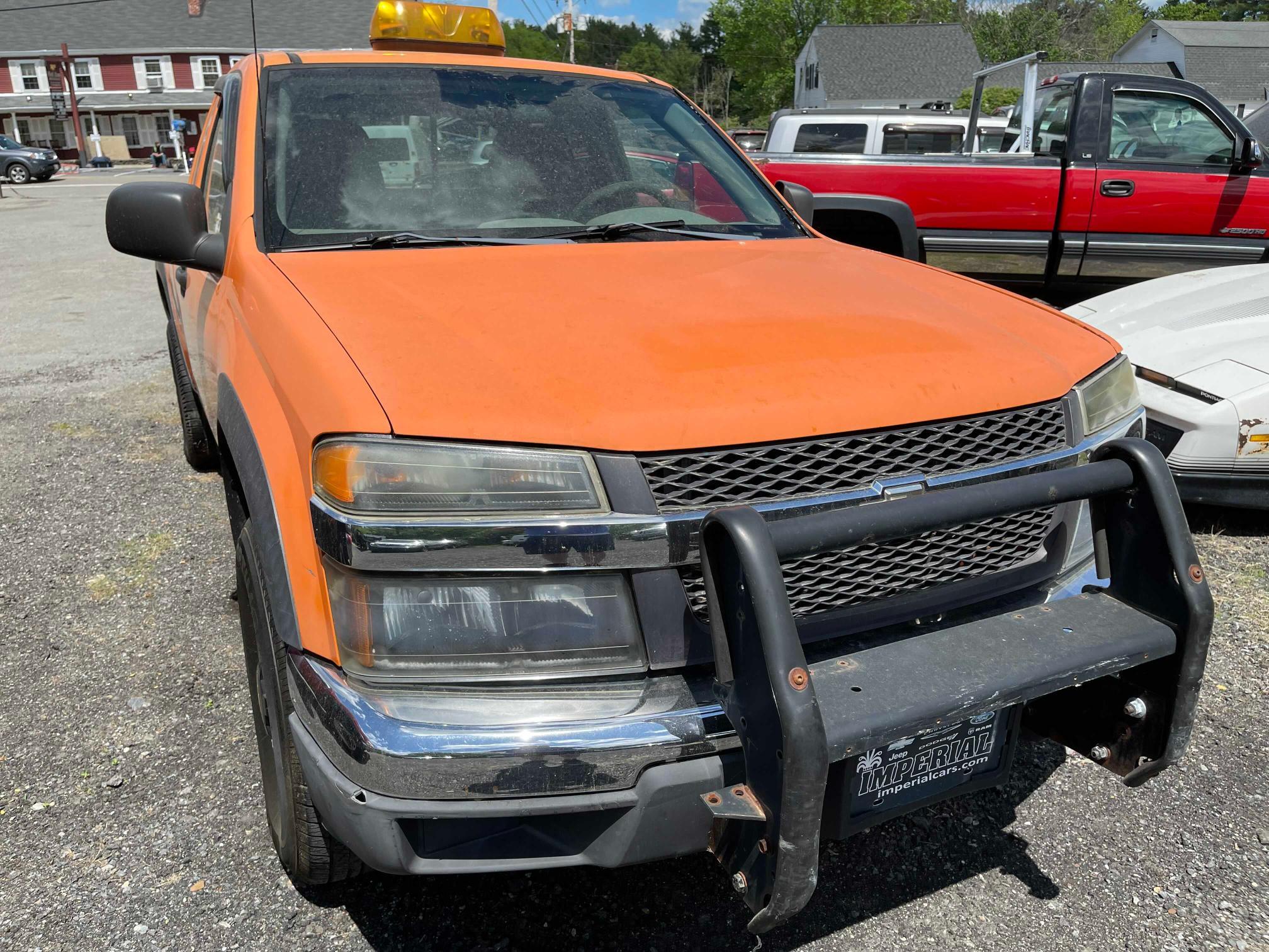 2004 Chevrolet Colorado en venta en West Warren, MA