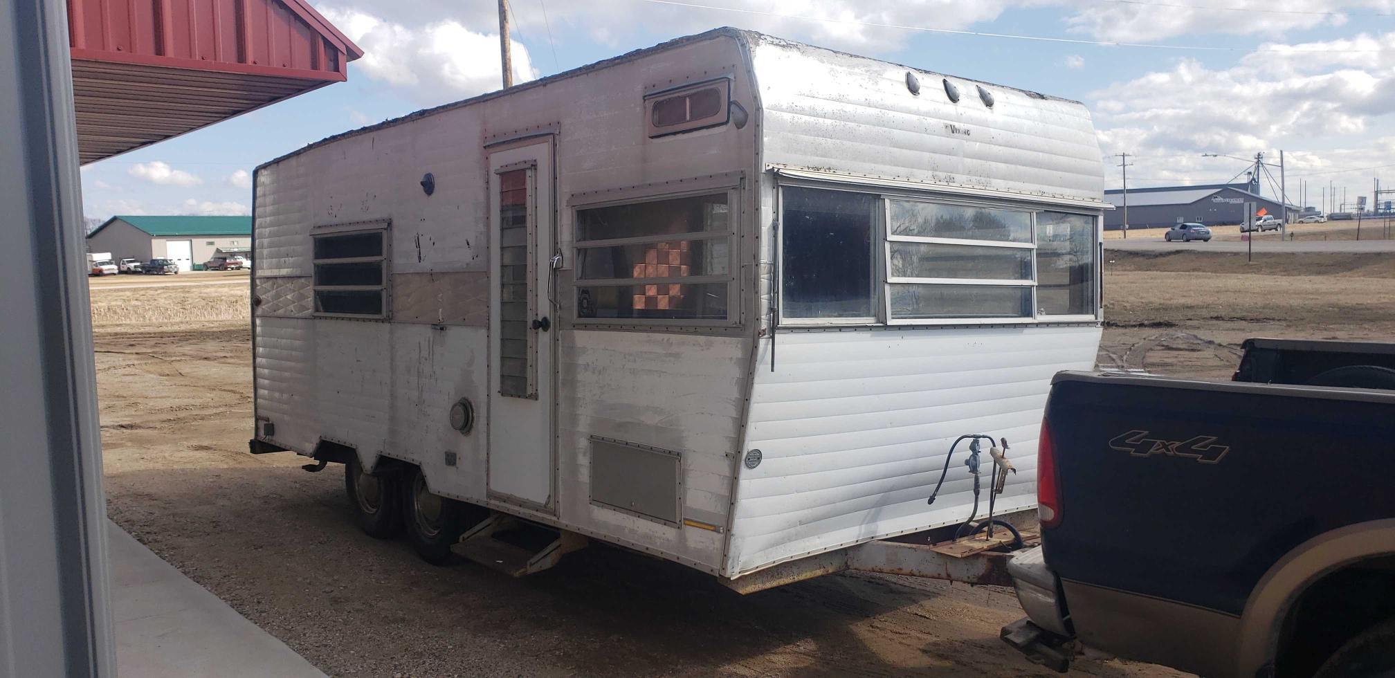 Coachmen Camper salvage cars for sale: 1968 Coachmen Camper