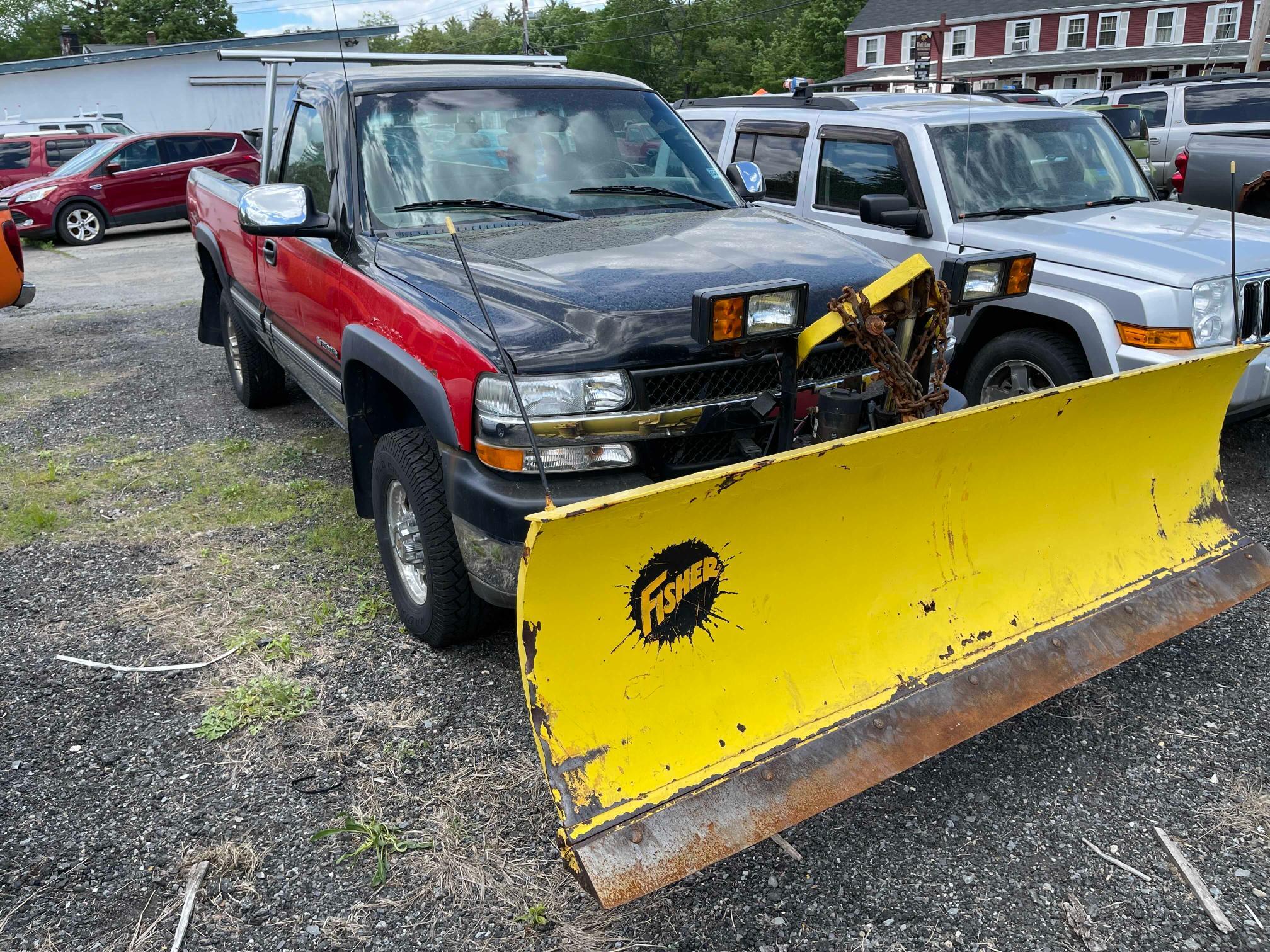 2002 Chevrolet Silverado en venta en West Warren, MA