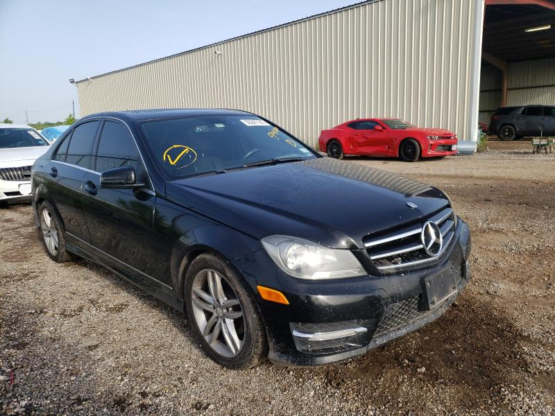 Salvage cars for sale from Copart Houston, TX: 2014 Mercedes-Benz C 250