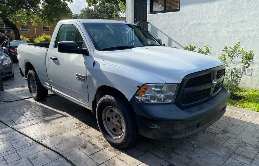 Salvage cars for sale from Copart Opa Locka, FL: 2013 Dodge RAM 1500 ST