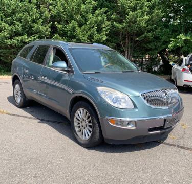 Salvage cars for sale from Copart Fredericksburg, VA: 2010 Buick Enclave CX