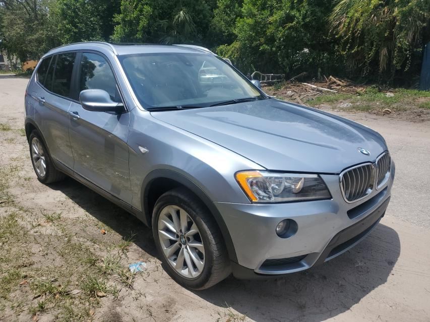 Salvage cars for sale from Copart Apopka, FL: 2013 BMW X3 XDRIVE2