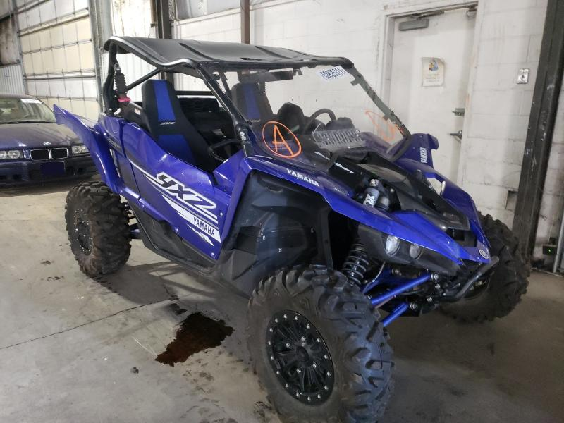 Salvage cars for sale from Copart Woodburn, OR: 2019 Yamaha YXZ1000