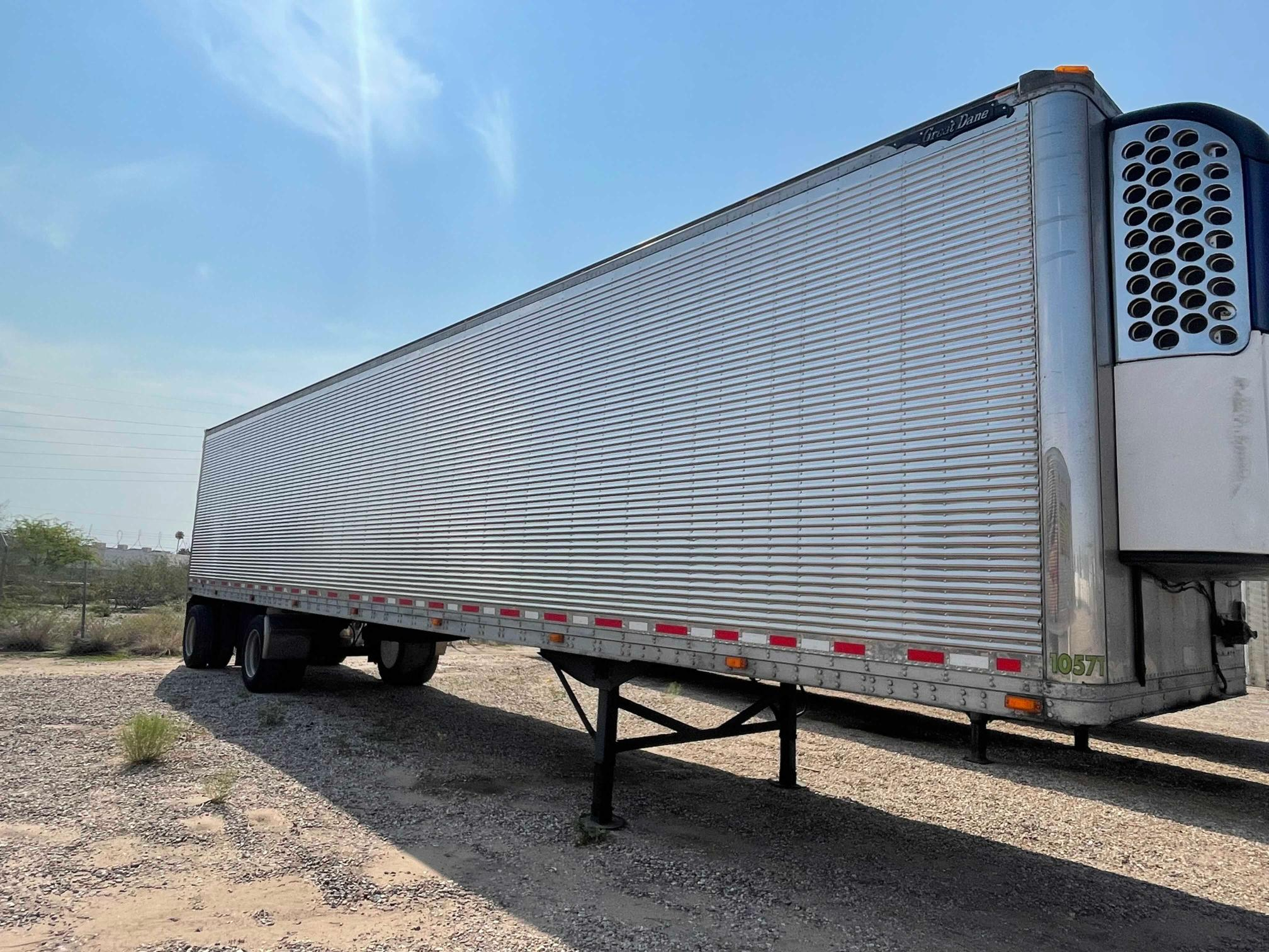 Great Dane Reefer salvage cars for sale: 2006 Great Dane Reefer