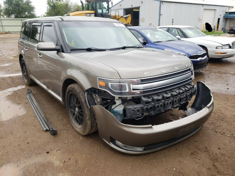 Salvage cars for sale from Copart Pekin, IL: 2013 Ford Flex Limited